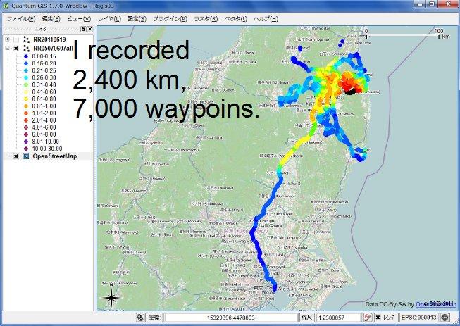 7000 waypoints